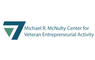 Michael R. McNulty Center for Veteran Entrepreneurial Activity Logo