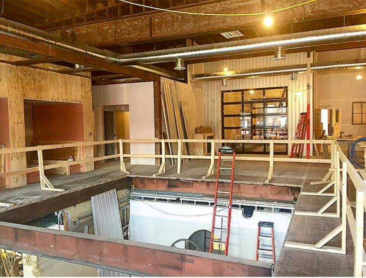 Construction Troy Innovation Garage